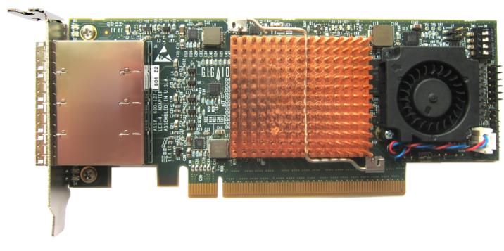 Хост-адаптер GigaIO с поддержкой PCI Express 4.0