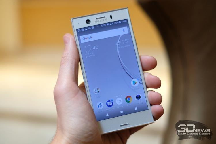 Здесь и ниже Sony Xperia XZ1 Compact