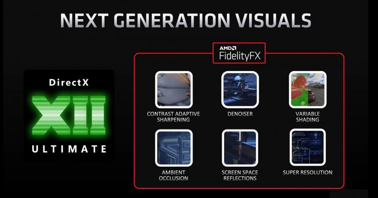 Возможности DirectX 12 Ultimate и AMD FidelityFX