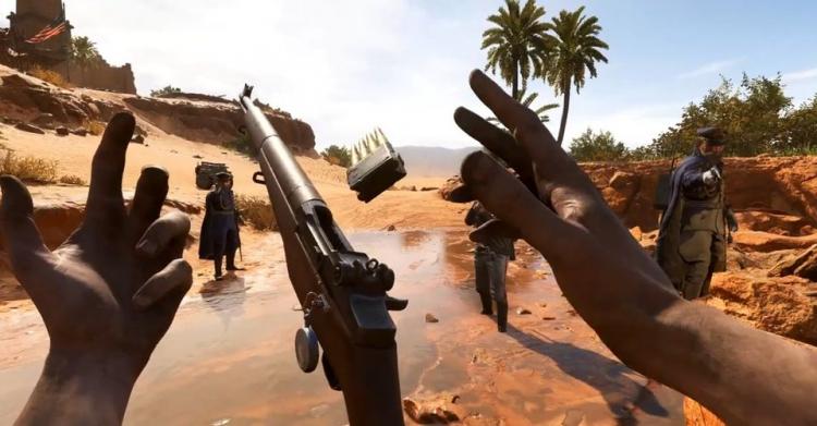В Battlefield V нашли секрет, который позволяет перезаряжать M1 Garand с помощью телекинеза