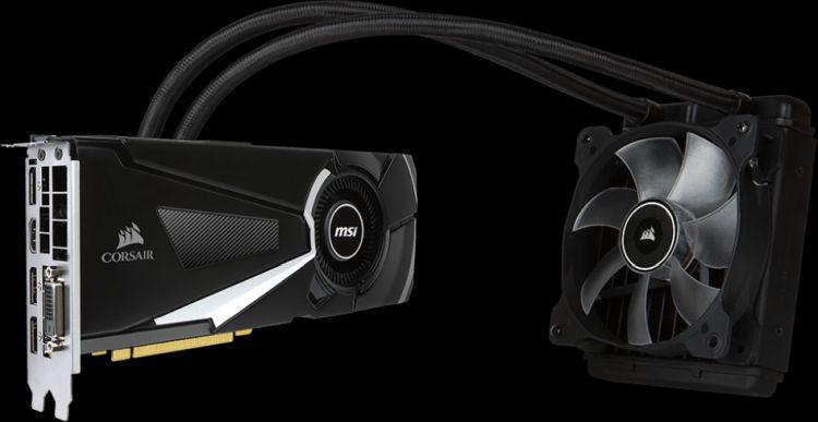 GeForce GTX 1080 Sea Hawk X. Источник изображения: MSI