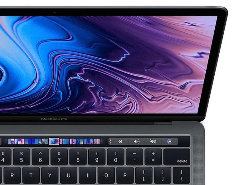 Сенсорная панель Touch Bar в будущих MacBook Pro сможет распознавать силу нажатия