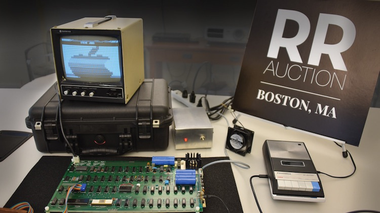Компьютер Apple 1 в рабочем состоянии с фирменной упаковкой продадут на аукционе в декабре