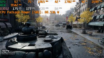 Нагрузка AMD Ryzen 7 3800X в Battlefield V