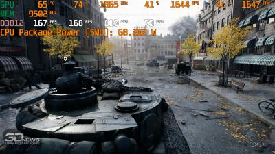 Нагрузка AMD Ryzen 5 3600 в Battlefield V