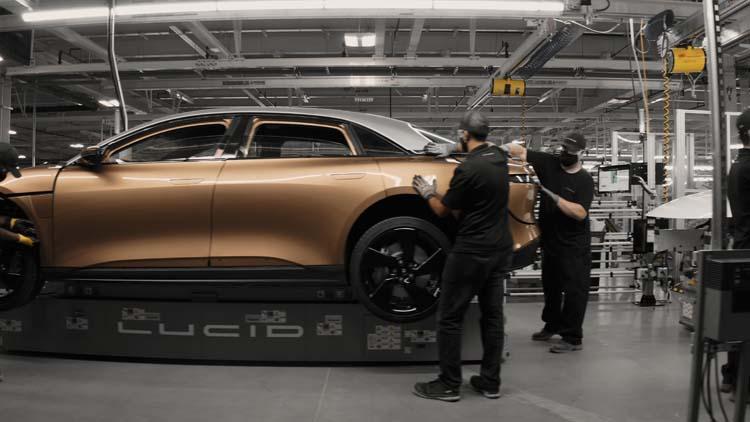 Lucid Motors завершила строительство завода по производству электрокаров в США. У Tesla растёт реальный конкурент