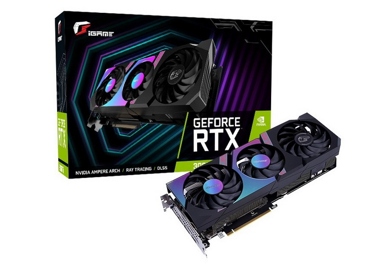 Colorful iGame GeForce RTX 3060 Ti Ultra OC-V