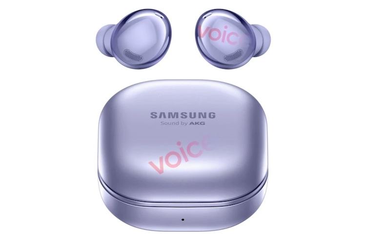 Беспроводные наушники Samsung Galaxy Buds Pro показались на изображении