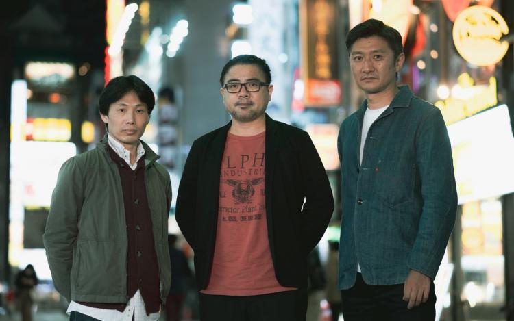 Слева направо: Окура, Тояма и Сато