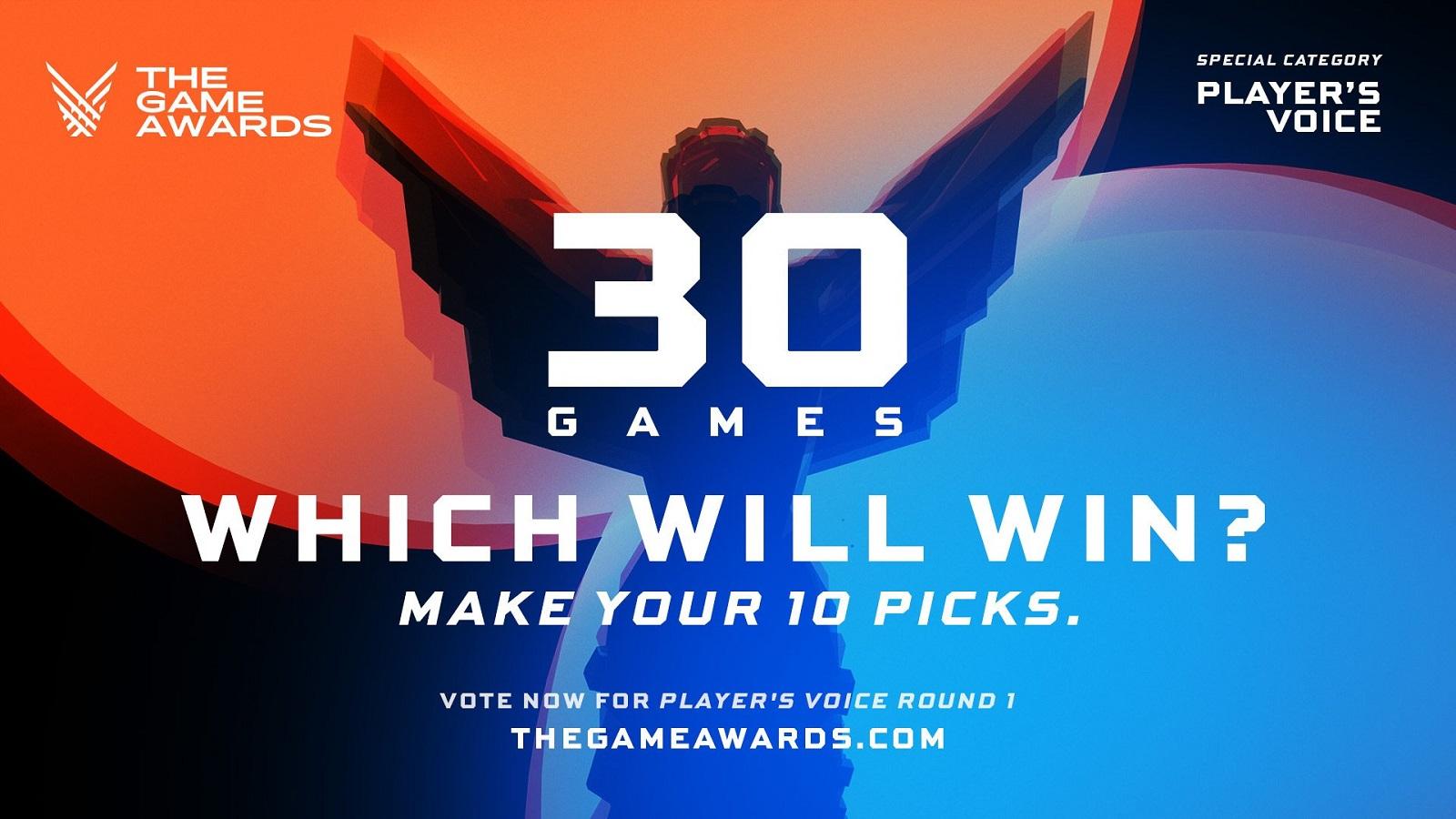 На сайте The Game Awards 2020 началось голосование за пользовательскую игру года