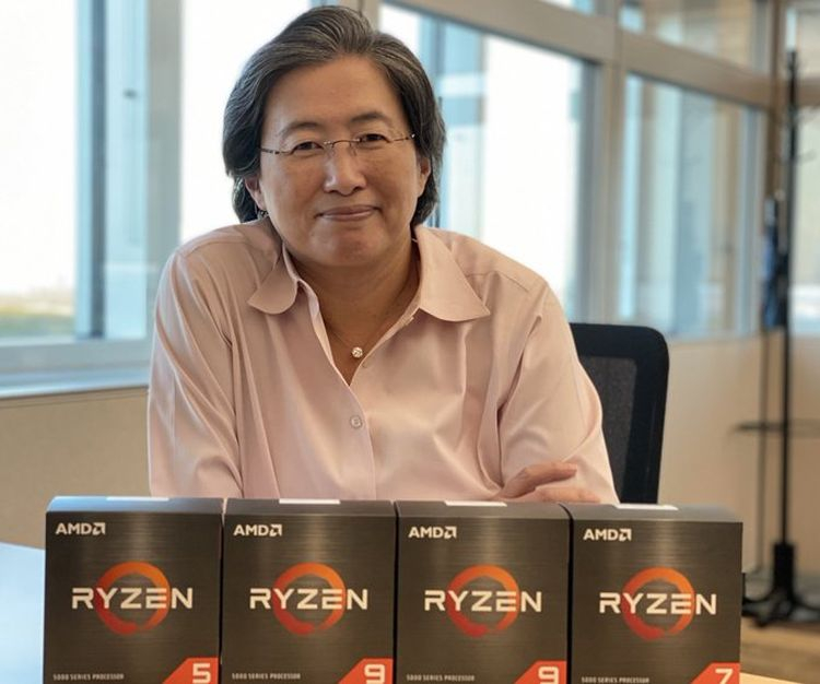 Ryzen 5000 secured record sales of AMD processors in one of German stores in November