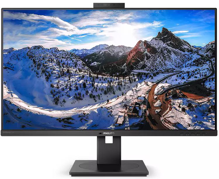 Philips представила профессиональные мониторы Brilliance 326P1H и 329P1H со встроенной веб-камерой и док-станцией для ноутбуков