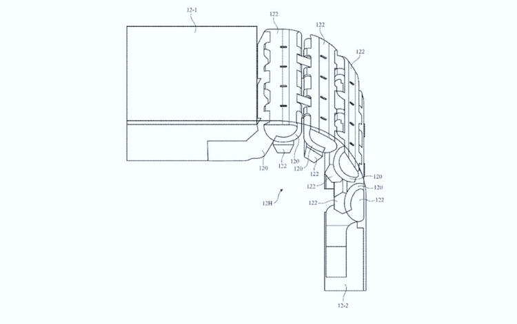 Apple запатентовала сложный шарнирный механизм для грядущего складного iPhone