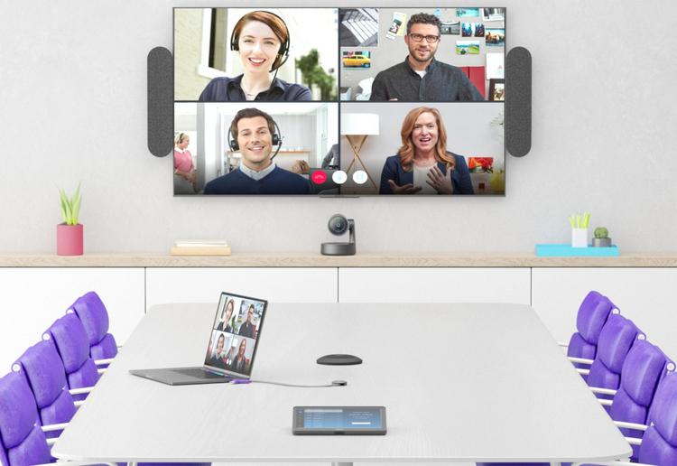 Logitech Swytch— максимально простое и удобное подключение ноутбука к видеоконференцсвязи
