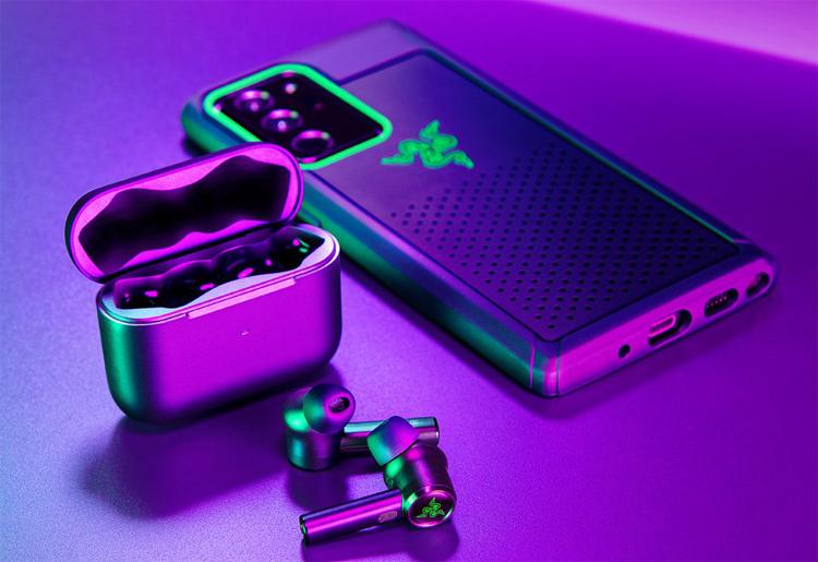 Беспроводные наушники Razer Hammerhead True Wireless Pro снабжены активным шумоподавлением