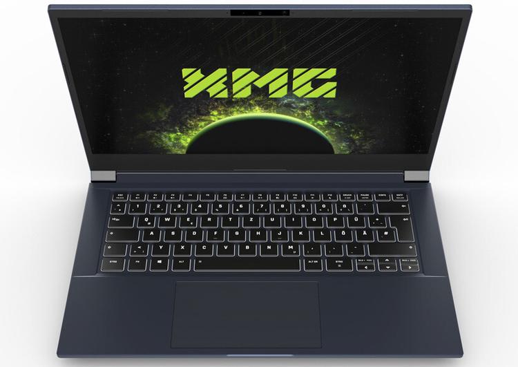 Представлен игровой ноутбук XMG Core 14 со 120-Гц дисплеем и процессором Intel Core 11-го поколения