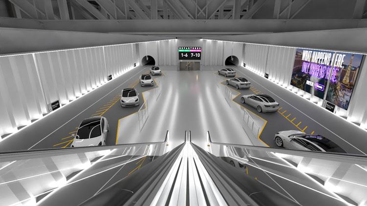 Компания Илона Маска показала первое фото подземной станции тоннельной сети под Лас-Вегасом