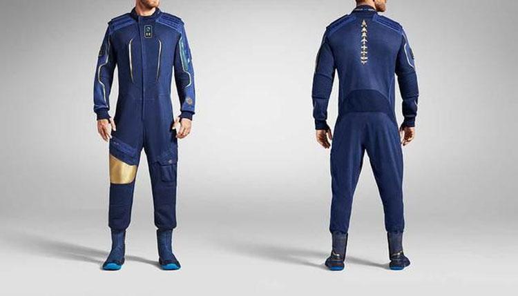 Лётные костюмы для космических туристов.