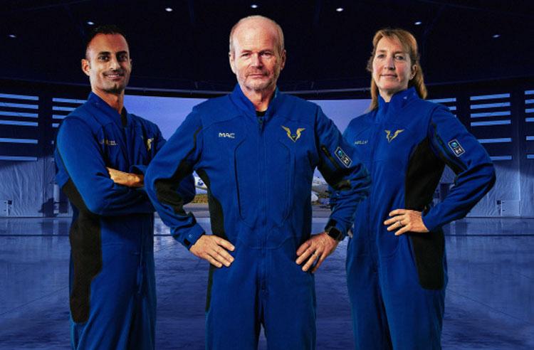 Лётные костюмы для пилотов. Источник изображения: Virgin Galactic