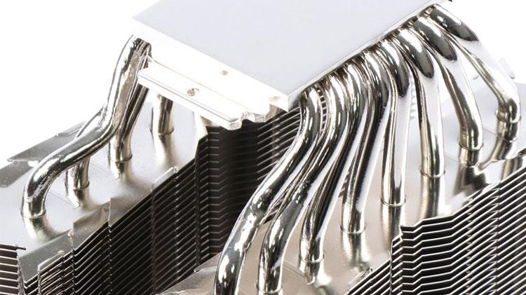 Система охлаждения на медных тепловых трубках. Источник изображения: Thermalright