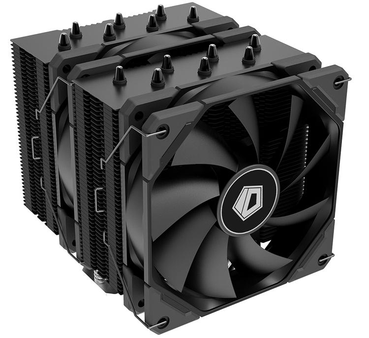 ID-Cooling представила кулер SE-207-XT Black, который весит 1,3 кг и расчитан на тепловыделение 280 Вт