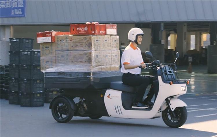 Электрический трицикл ADATA. Источник изображения: ADATA