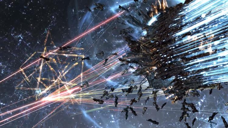 Вторая мировая в EVE Online уже нанесла ущерба на $700 тыс., и это ещё не конец1