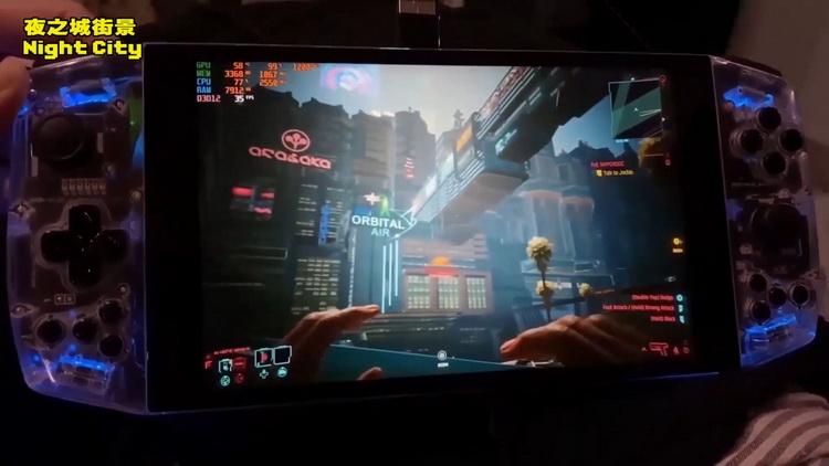 Cyberpunk 2077 запустили на портативной консоли Aya Neo с процессором AMD Ryzen 5 4500U6