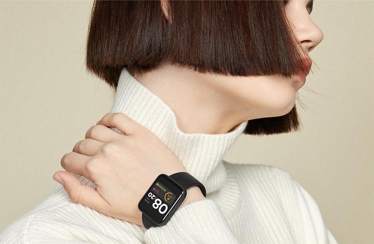 Xiaomi представила смарт-часы Mi Watch Lite с датчиком ЧСС и защитой от воды