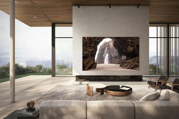 Компания Samsung открыла новую эпоху телевизоров со 110-дюймовой панелью MicroLED