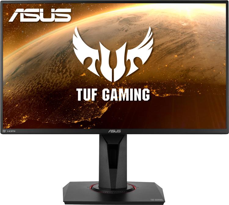 Частота обновления игрового монитора ASUS TUF Gaming VG258QM достигает 280 Гц