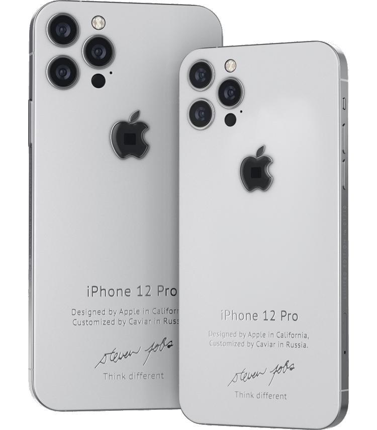 Представлены эксклюзивные iPhone 12 Pro в стиле iPhone 4 с фрагментами водолазки Стива Джобса2