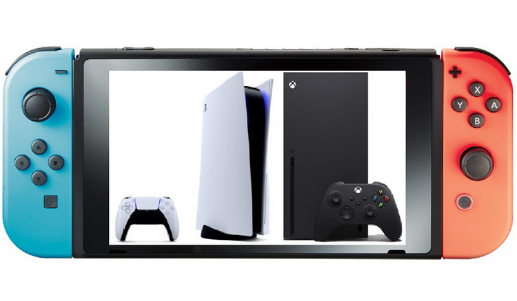 Дефицит PS5 и Xbox Series стимулировал продажи Nintendo Switch в Японии
