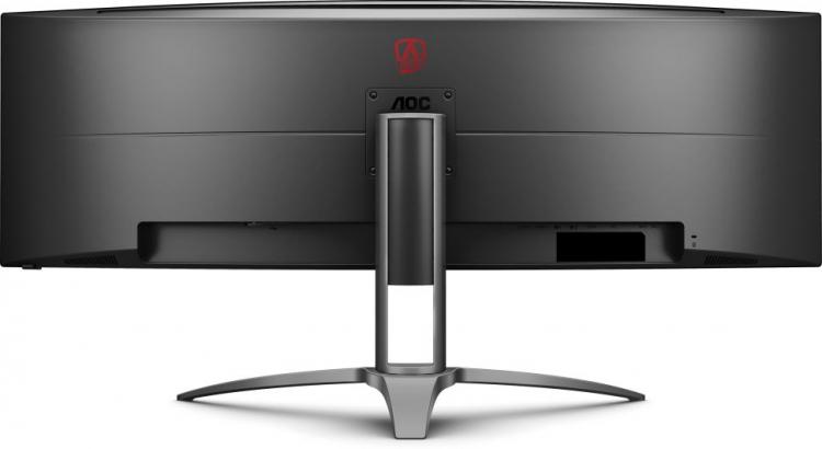 Гигантский игровой монитор AOC Agon AG493UCX наконец-то добрался до магазинов