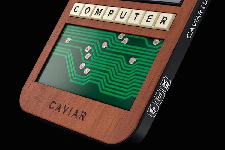 Caviar выпустила iPhone 12 Pro с печатной платой от компьютера Apple-1 1976 года выпуска
