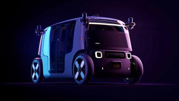 Электрические роботакси Zoox смогут ездить без подзарядки на протяжении 16 часов