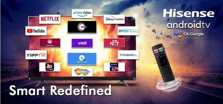 HiSense представила телевизоры Tornado с аудиосистемой мощностью более 100 Вт