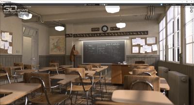 Blender 2.91 classroom (аккумулятор)