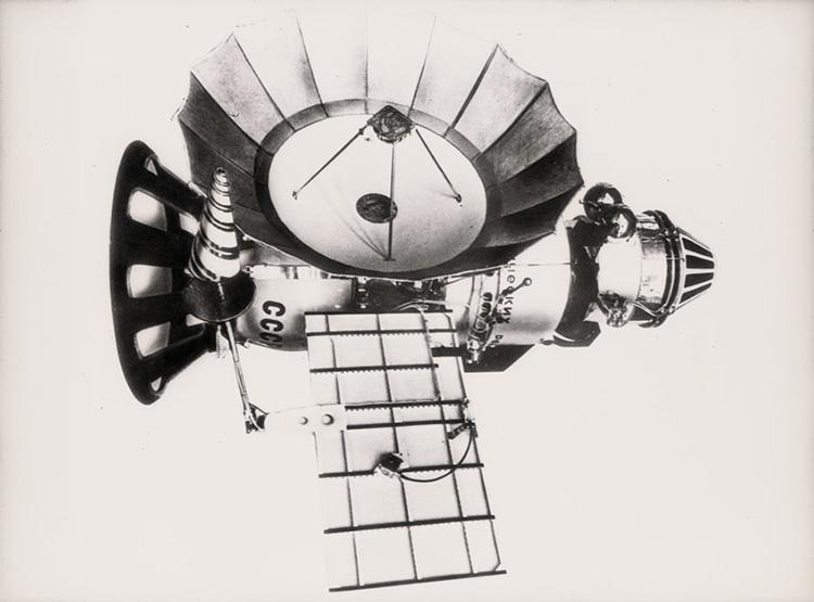 Межпланетная автоматическая станция «Венера-7». Фото из архива РГАНТД