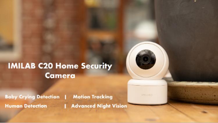 Умная камера Imilab C20 обеспечит надёжное видеонаблюдение в любое время суток