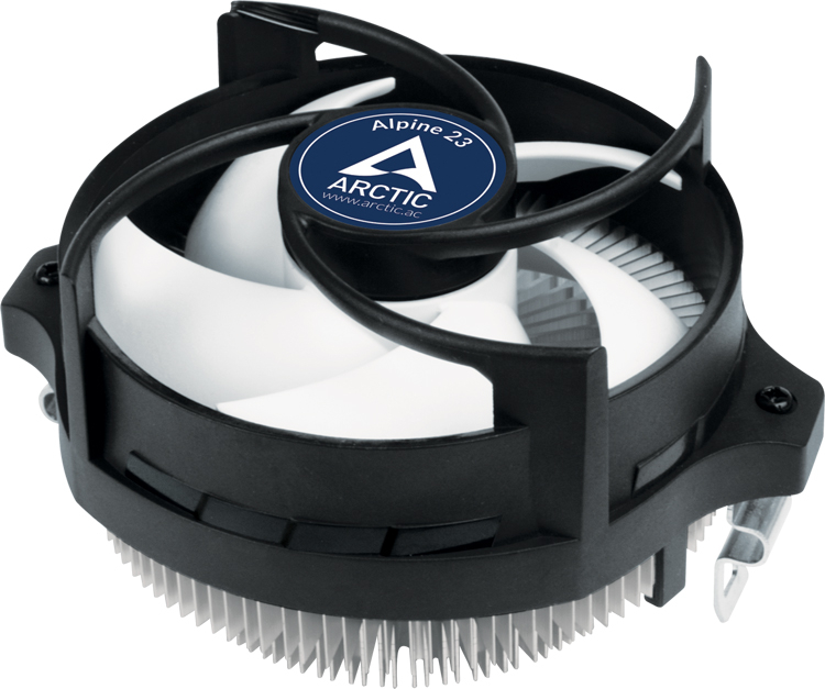 Introduced compact Alpine 23 cooler for AMD processors at €12