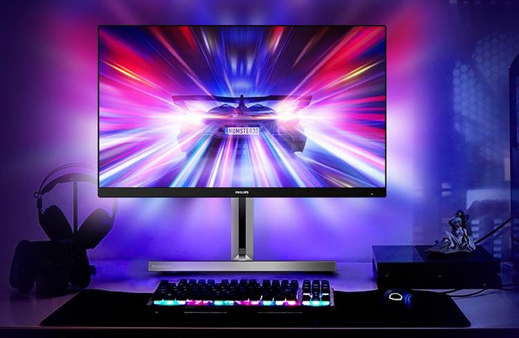 Представлен игровой монитор Philips 329M1RV формата 4К с частотой обновления 144 Гц