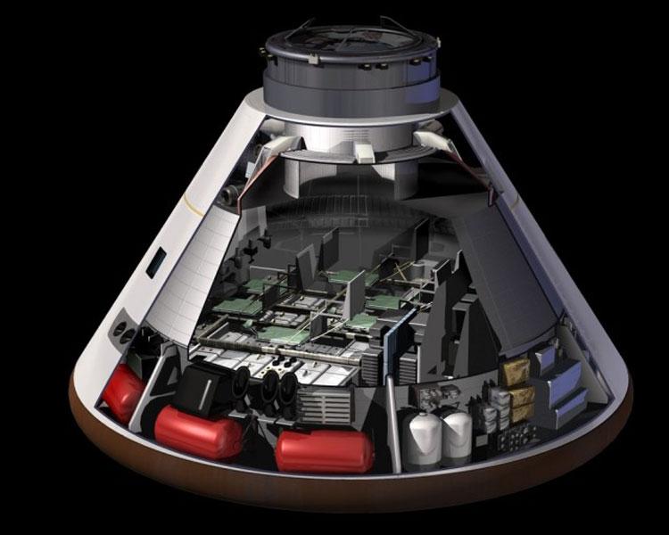 Космический корабль «Орион». Источник изображения: NASA