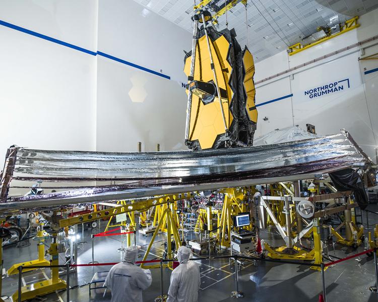Одна из ключевых систем телескопа «Джеймс Уэбб» успешно прошла испытания