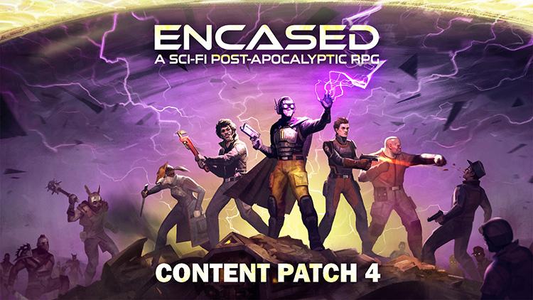 """Koch Media выпустит отечественную изометрическую пошаговую RPG Encased в 2021 году"""""""