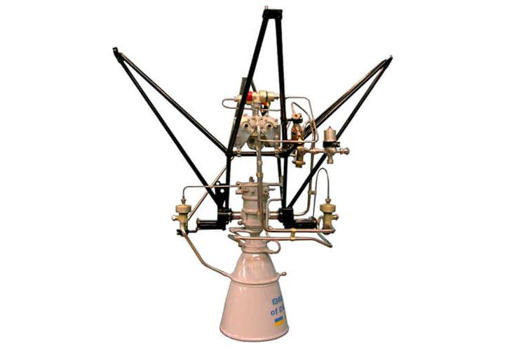 Двигатель РД-843, задействованный в четвёртой ступени РН Vega