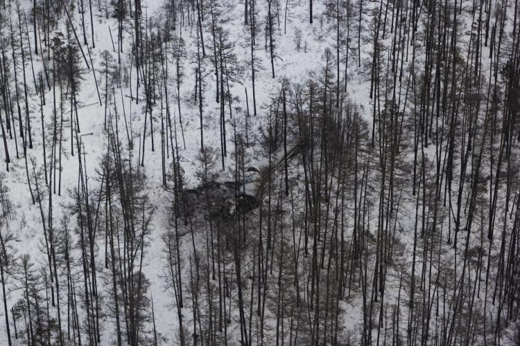 «Роскосмос» опубликовал фотографии найденных обломков «Союза-2.1б»