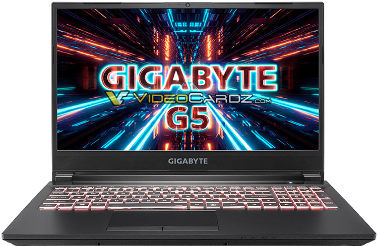 Gigabyte to unveil G7, G5 and A7 entry-level notebooks with GeForce RTX 3060 and AMD and Intel chips