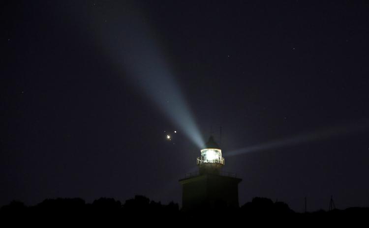 """Фото дня: слияние Юпитера и Сатурна в двойную планету"""""""