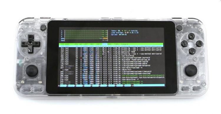 Карманная игровая консоль ODROID-Go Super за $80 построена на базе Ubuntu